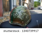 Helmet With Military Look Of...