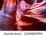 famous antelope canyon near...   Shutterstock . vector #1340800994