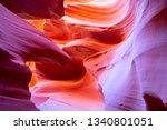 famous antelope canyon near...   Shutterstock . vector #1340801051