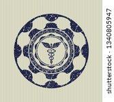blue caduceus medical icon...   Shutterstock .eps vector #1340805947