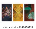 multi style patterns | Shutterstock .eps vector #1340808791
