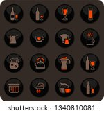 utensils for the preparation of ... | Shutterstock .eps vector #1340810081
