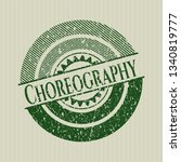 green choreography distressed...   Shutterstock .eps vector #1340819777