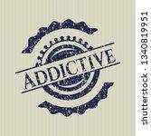 blue addictive distress grunge...   Shutterstock .eps vector #1340819951