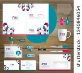 corporate business  identity... | Shutterstock .eps vector #1340846054