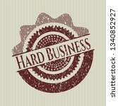red hard business distressed...   Shutterstock .eps vector #1340852927
