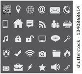 business icon vector design | Shutterstock .eps vector #1340868614