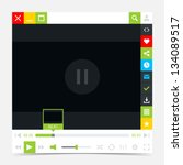 media player interface with...