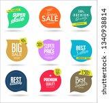 sale banner templates design... | Shutterstock .eps vector #1340938814