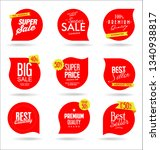 sale banner templates design... | Shutterstock .eps vector #1340938817