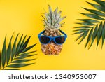 summer concept. cute and funny... | Shutterstock . vector #1340953007