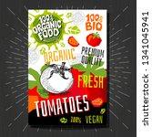 food labels stickers set... | Shutterstock .eps vector #1341045941