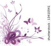 Floral Background  Vector...