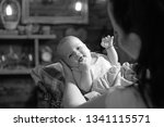 mommy it is time for a break.... | Shutterstock . vector #1341115571