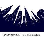 night modern city street low... | Shutterstock . vector #1341118331