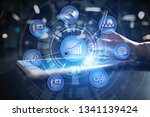 business process and strategy...   Shutterstock . vector #1341139424