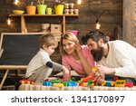 private lesson concept. child... | Shutterstock . vector #1341170897