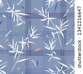 beautiful seamless pattern with ... | Shutterstock .eps vector #1341216647