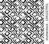 geometric hand drawn seamless... | Shutterstock .eps vector #1341227951