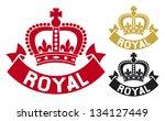 Royal Label  Royal Symbol ...