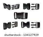 plastic buckle set | Shutterstock . vector #134127929