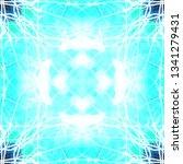 light mandala. symmetry and... | Shutterstock . vector #1341279431