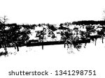 winter landscape. village in...   Shutterstock .eps vector #1341298751