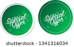 special offer stickers | Shutterstock .eps vector #1341316034