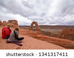 arches national park  delicate... | Shutterstock . vector #1341317411