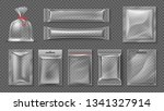 plastic package. realistic... | Shutterstock .eps vector #1341327914