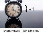daylight saving time. dst. turn ... | Shutterstock . vector #1341351287