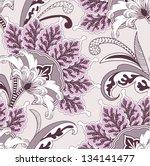 seamless floral pattern   Shutterstock .eps vector #134141477