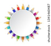 white background with... | Shutterstock .eps vector #1341460487