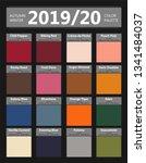 autumn and winter 2019   2020...   Shutterstock .eps vector #1341484037