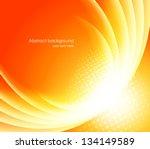 bright orange background | Shutterstock .eps vector #134149589