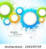abstract background with grunge ... | Shutterstock .eps vector #134149739
