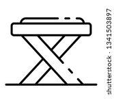 carpenter table icon. outline...   Shutterstock .eps vector #1341503897