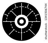 modern aim icon. simple... | Shutterstock .eps vector #1341506744
