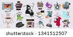 vector collection of varied... | Shutterstock .eps vector #1341512507