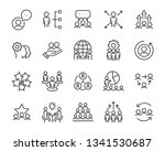 set of business people icons ... | Shutterstock .eps vector #1341530687