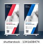 modern business vertical... | Shutterstock .eps vector #1341608474