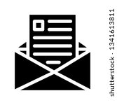 email icon vector | Shutterstock .eps vector #1341613811