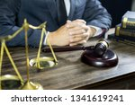 justice and law concept.male...   Shutterstock . vector #1341619241