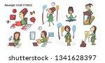 set elements  cartoon style....   Shutterstock .eps vector #1341628397