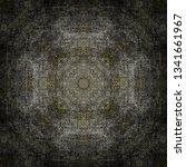 dark decoration pattern | Shutterstock . vector #1341661967