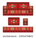 old fashioned traditional... | Shutterstock .eps vector #1341676841