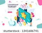 hand show gesture  best... | Shutterstock .eps vector #1341686741