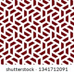 pattern with intersecting... | Shutterstock .eps vector #1341712091