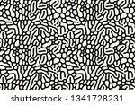 vector seamless pattern. modern ... | Shutterstock .eps vector #1341728231