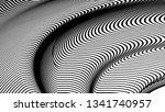 vector 3d striped waves....   Shutterstock .eps vector #1341740957